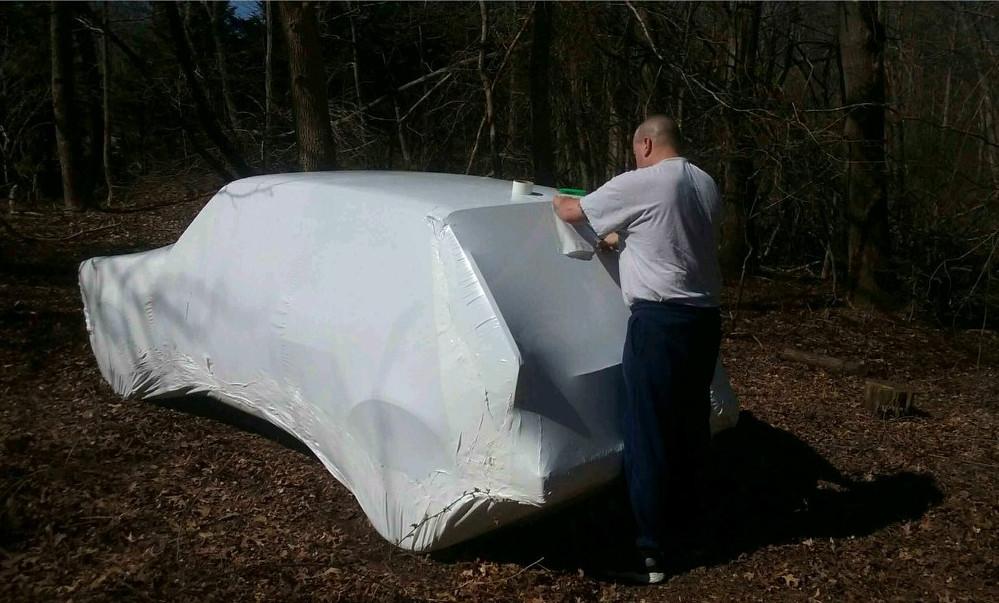 VW-Bug-automobiler-shrink-wrapping