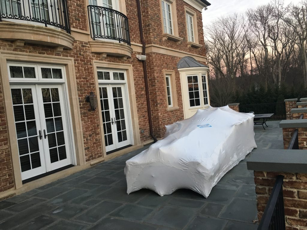 Outdoor Patio Furniture Wrapping in Holmdel, NJ